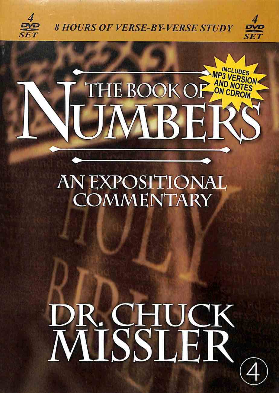 Numbers Commentary (4 Discs, 8 Sessions, 8 Hours) DVD