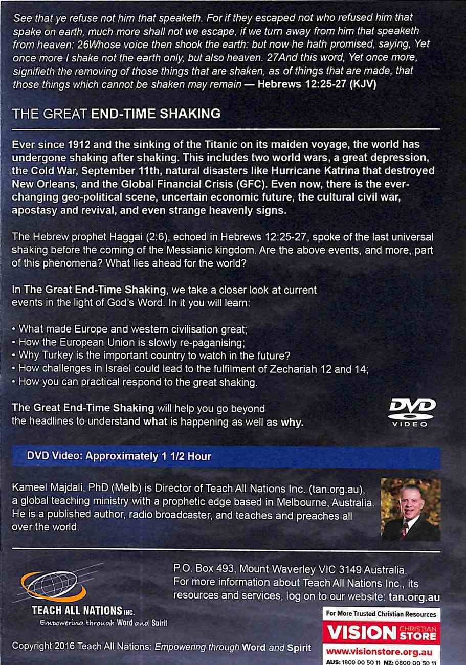 The Great End-Time Shaking: How the Eu, Brexit, Turkey & Israel Are Shaking the World DVD