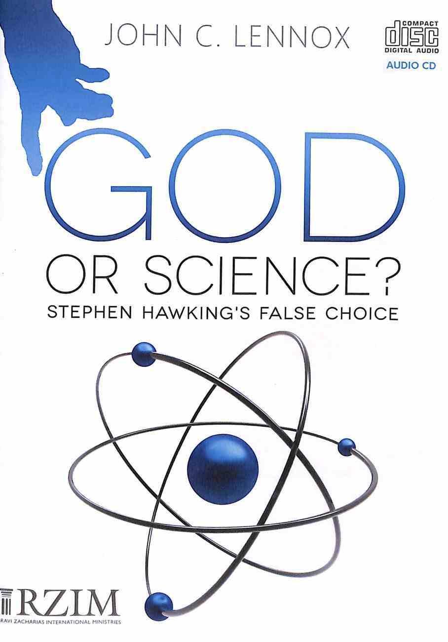 God Or Science?: Stephen Hawking's False Choice CD