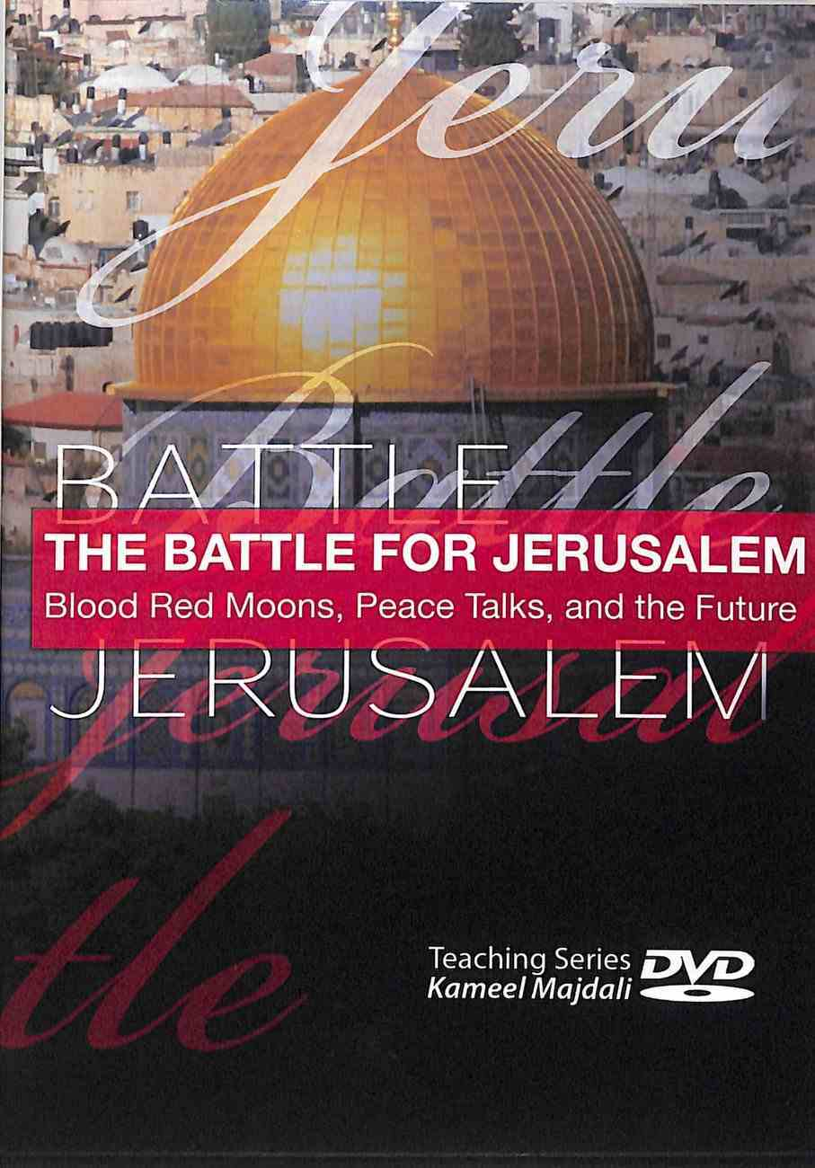 The Battle For Jerusalem: Blood Red Moons, Peace Talks, and the Future DVD