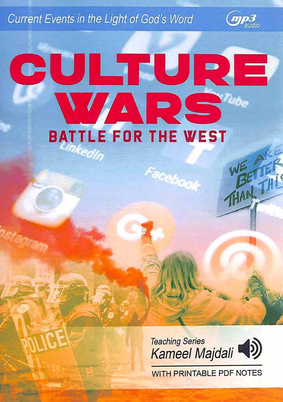 Culture Wars: Battle For the West (With Printable Pdf Notes) (Mp3 Audio, 5 Hrs) CD