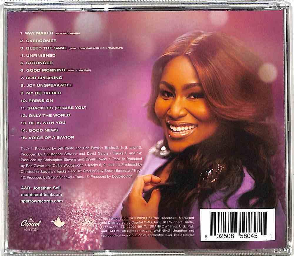 Overcomer: Greatest Hits CD