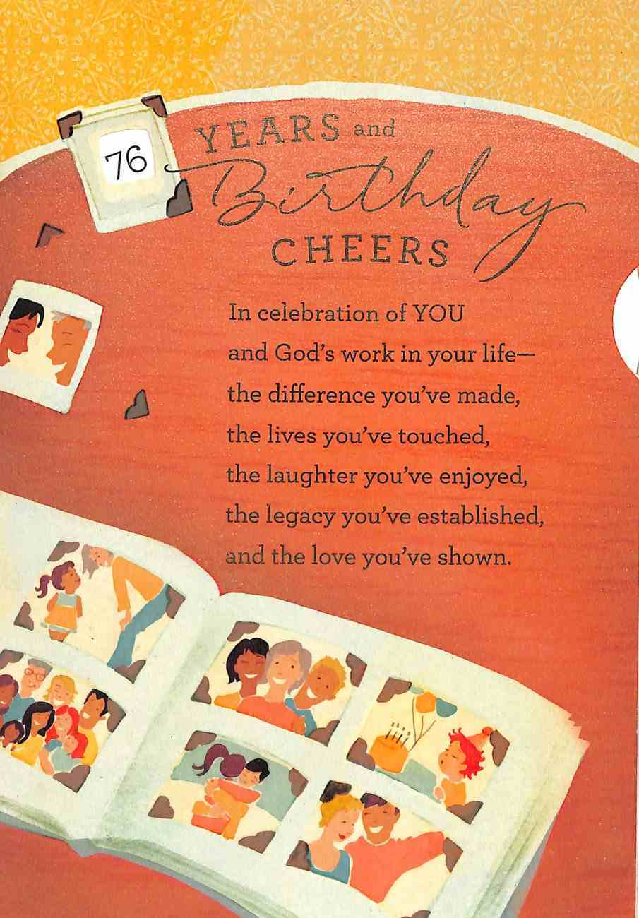 Years and Birthday Cheers (Multi-year) Cards