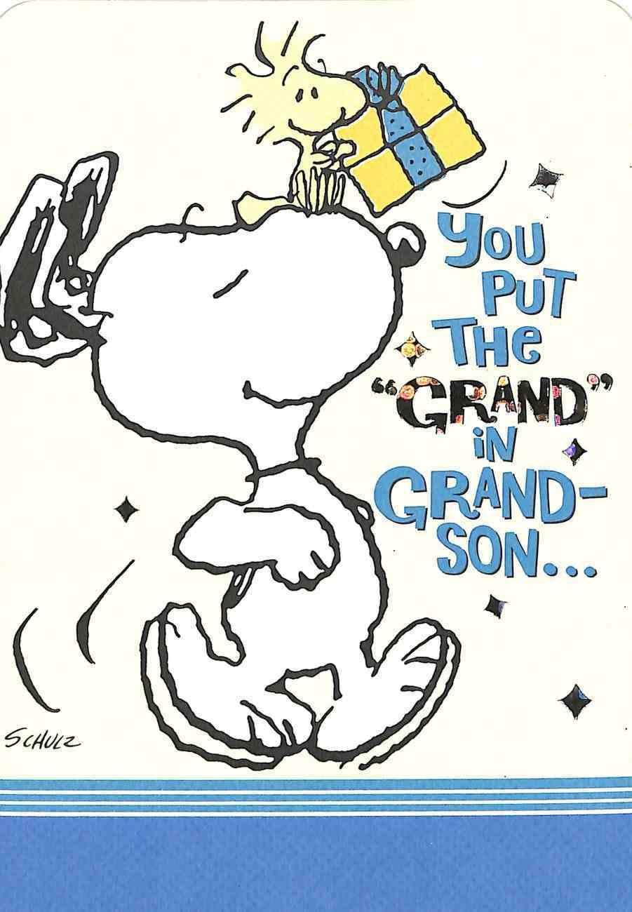 Relative Birthday Grandson Cards