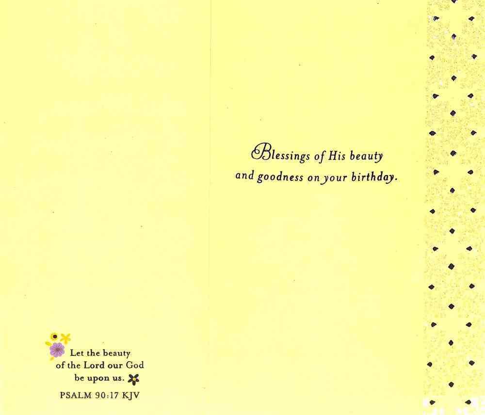 Bd General Feminine (Yellow Flower Photo) Cards