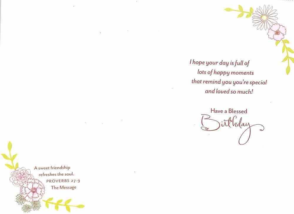 Special Friend Feminine Cards