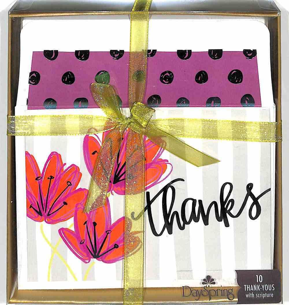 Premium Notes: Thanks For You (Ephesians 1:16 Nlt) Stationery