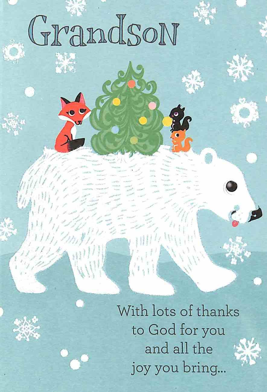 Christmas - Grandson Cards