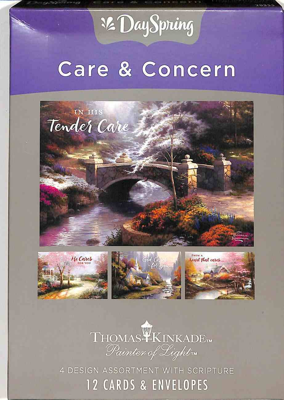 Boxed Cards Care & Concern: Thomas Kinkade, Painter of Light Box