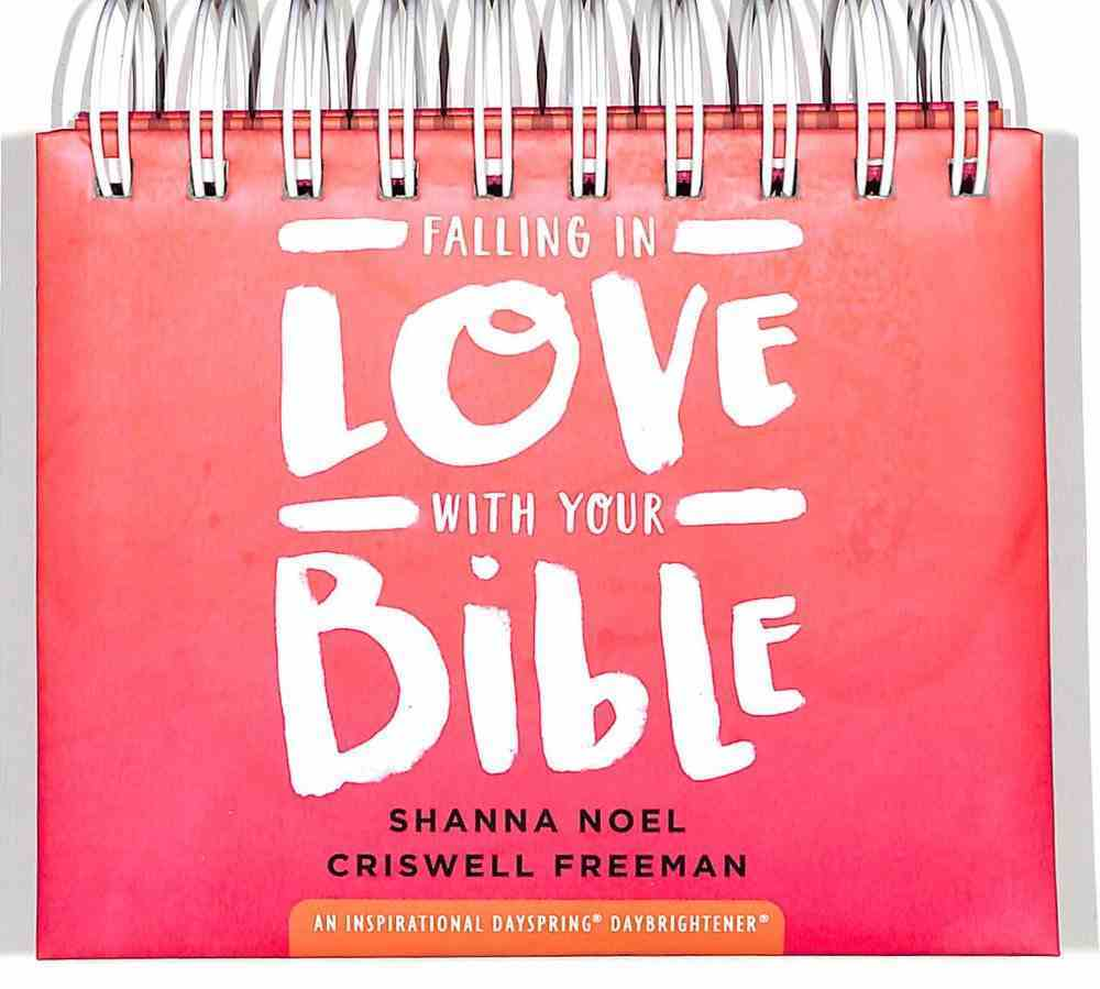Daybrighteners: Falling in Love With Your Bible (Padded Cover) Spiral