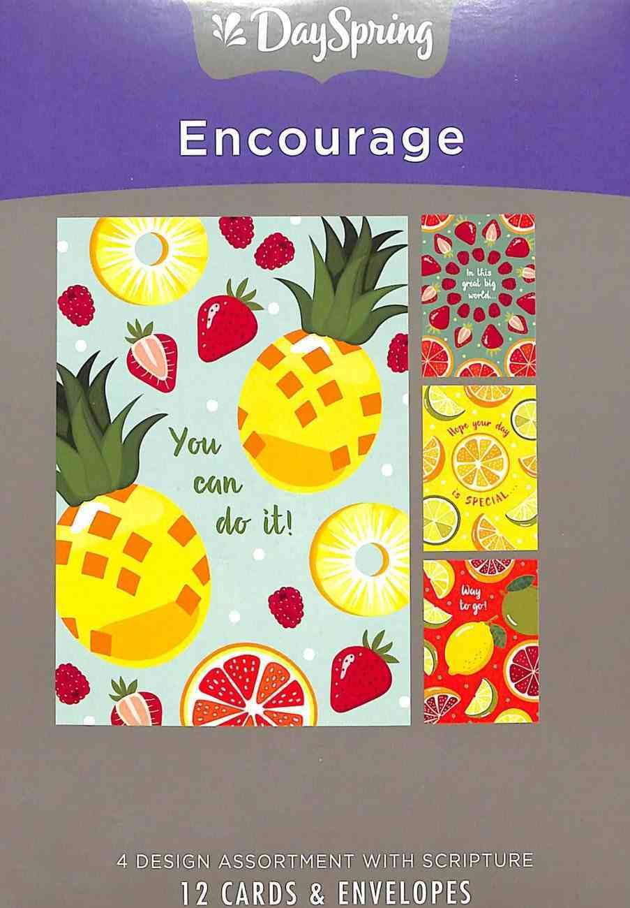 Boxed Cards Encourage: Citrus Illustrations Box
