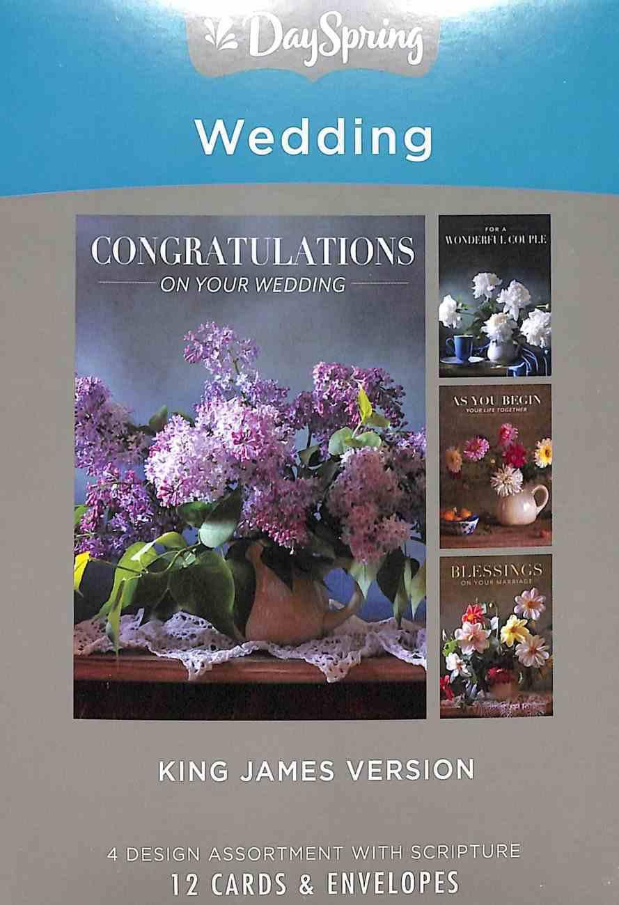 Boxed Cards Wedding: Wedding Blessings (Kjv) Box