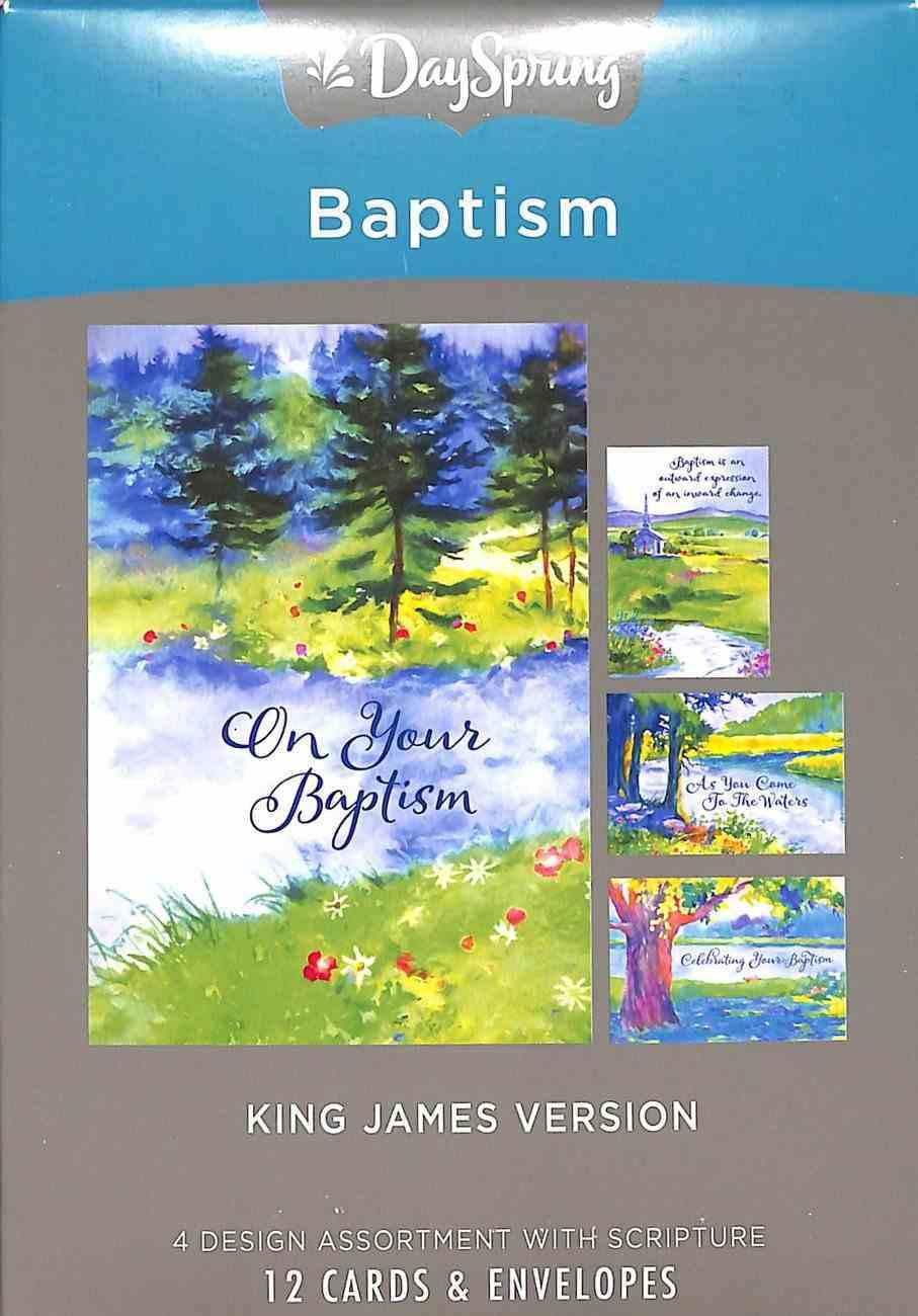 Boxed Cards Baptism: Special Step of Faith (Kjv) Box
