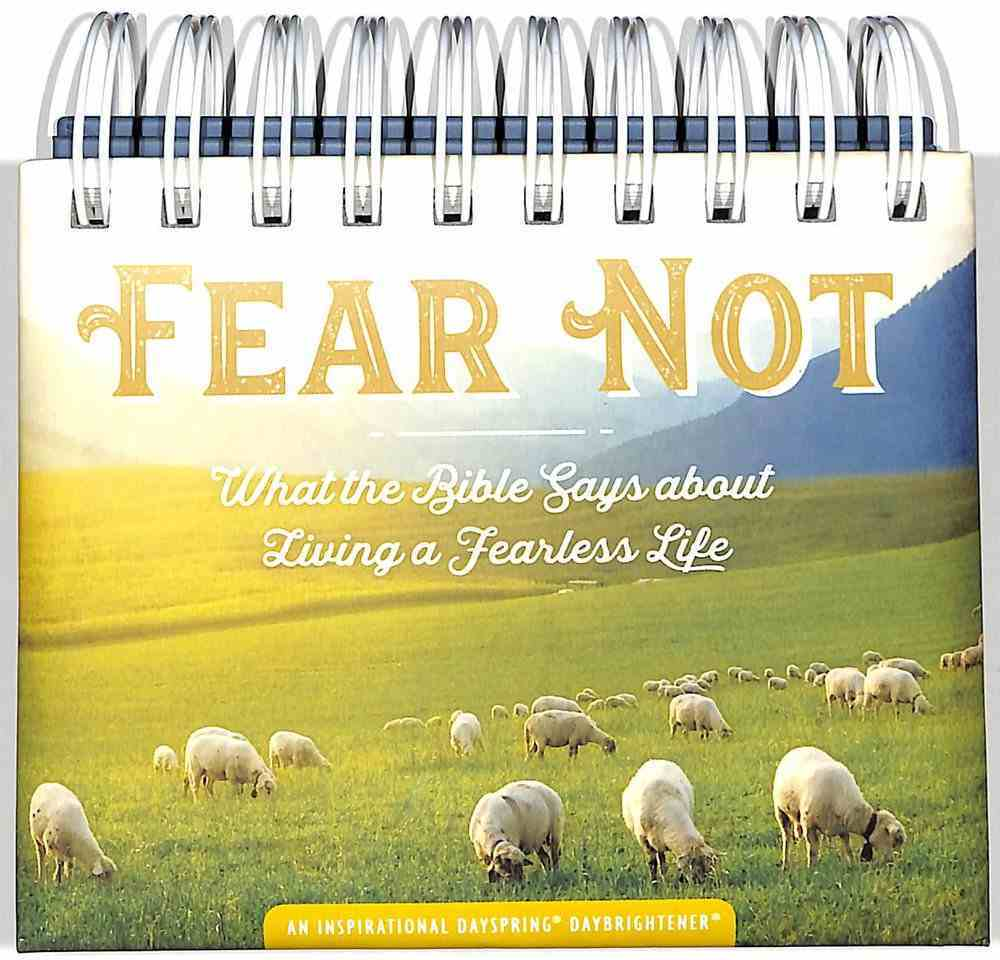 Daybrighteners: Fear Not (Padded Cover) Spiral