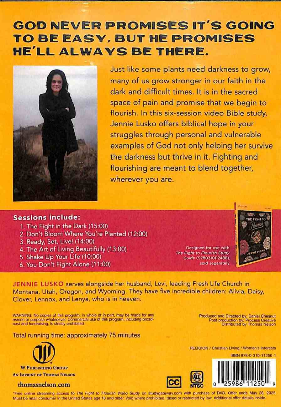 The Fight to Flourish: Learn to Live Fully Wherever You Are (Video Study) DVD