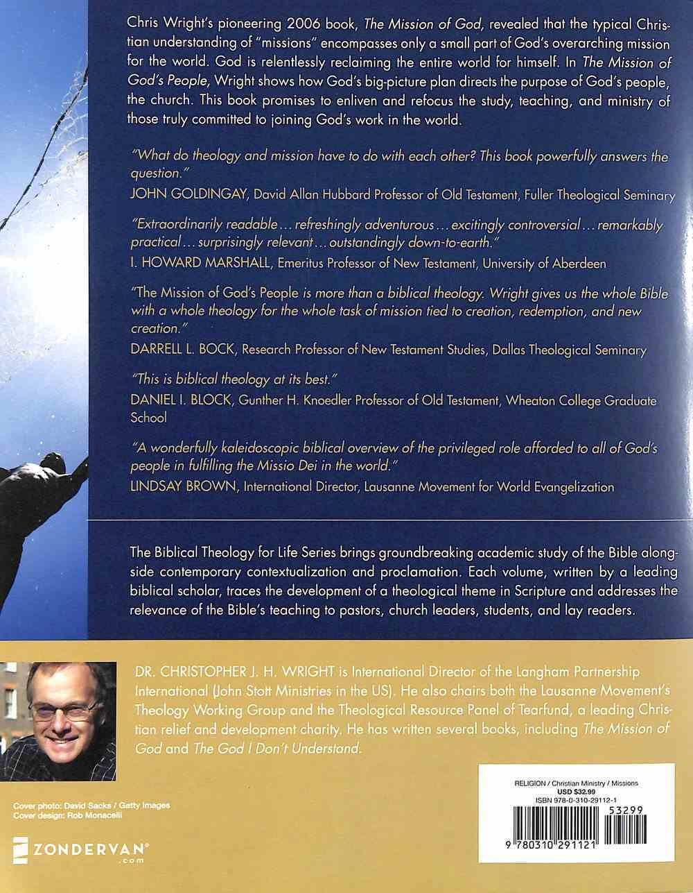 The Mission of God's People: A Biblical Theology of the Church's Mission (Video Lectures) DVD