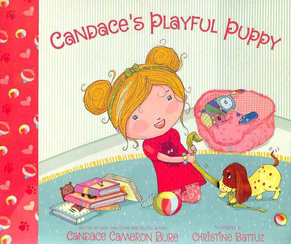 Candace's Playful Puppy Hardback