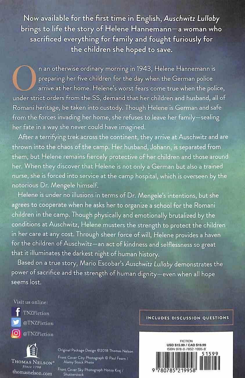 Auschwitz Lullaby: A Novel Paperback