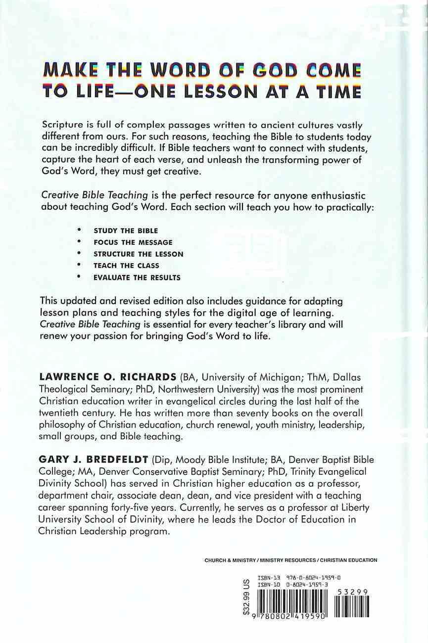Creative Bible Teaching Hardback