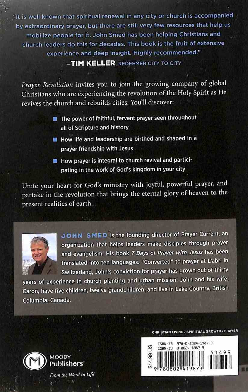 Prayer Revolution: Rebuilding Church and City Through Prayer Paperback