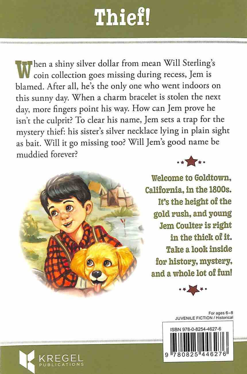 Jem and the Mystery Thief (#03 in Goldtown Beginnings Series) Paperback