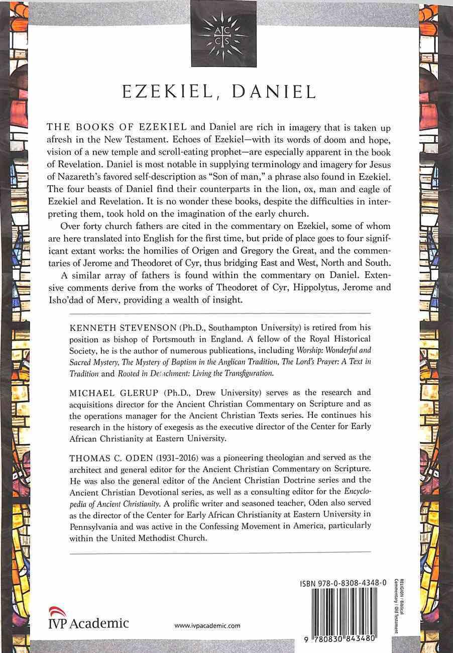 Accs OT: Ezekiel, Daniel (Ancient Christian Commentary On Scripture: Old Testament Series) Paperback