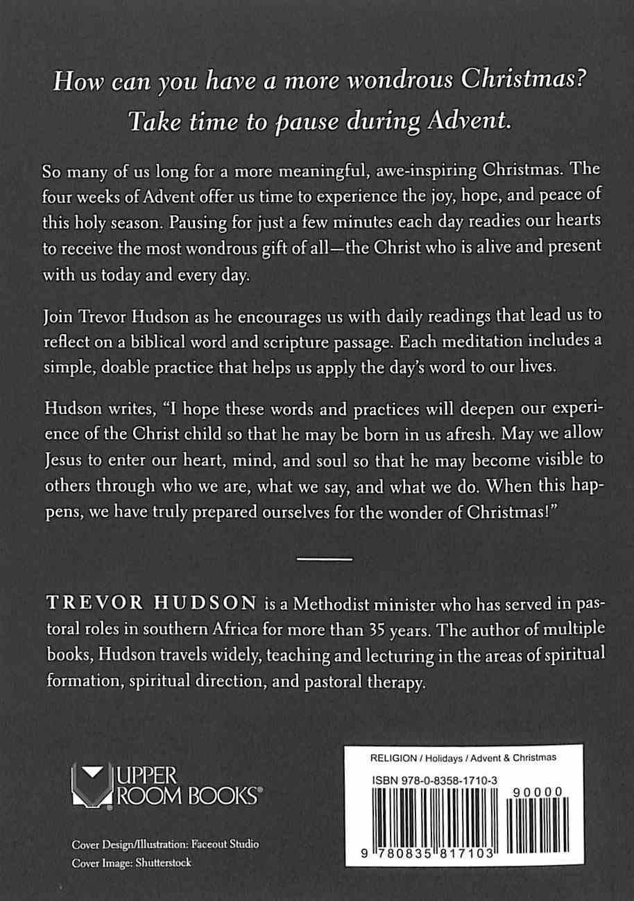 Pauses For Advent: Words of Wonder Paperback