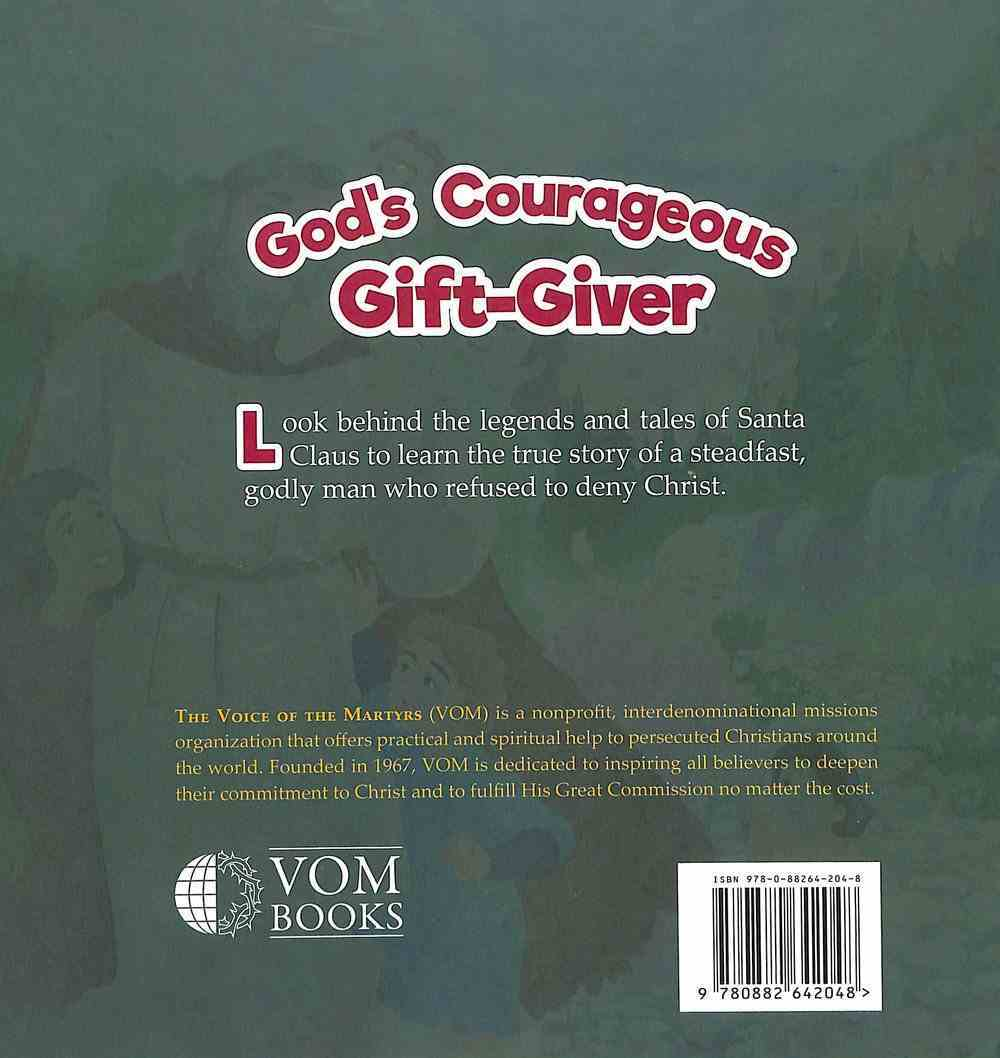 Nicholas: God's Courageous Gift Giver (#06 in The Courageous Kids Series) Hardback