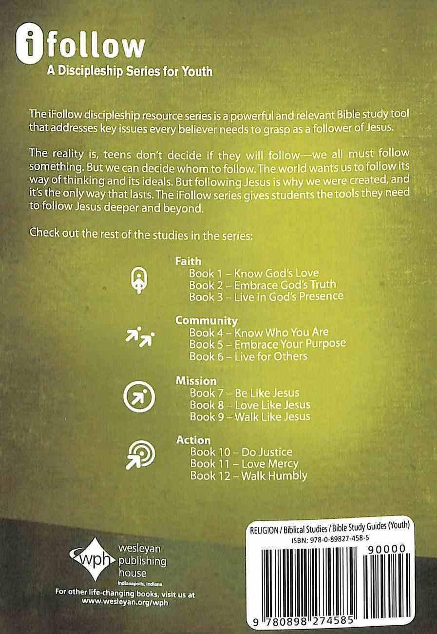 Ifollow Discipleship: Be Like Jesus Paperback