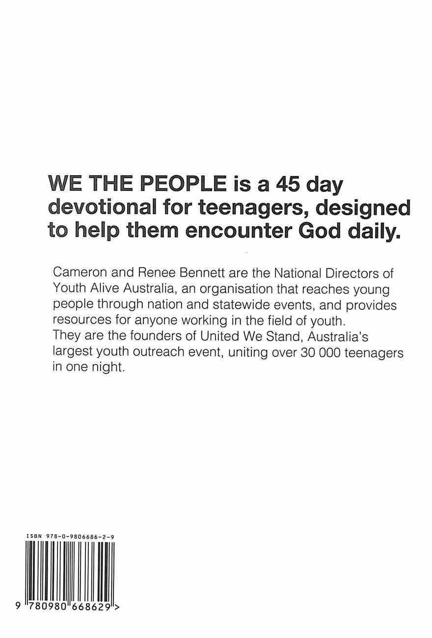 We the People: A 45 Day Devotional Hardback