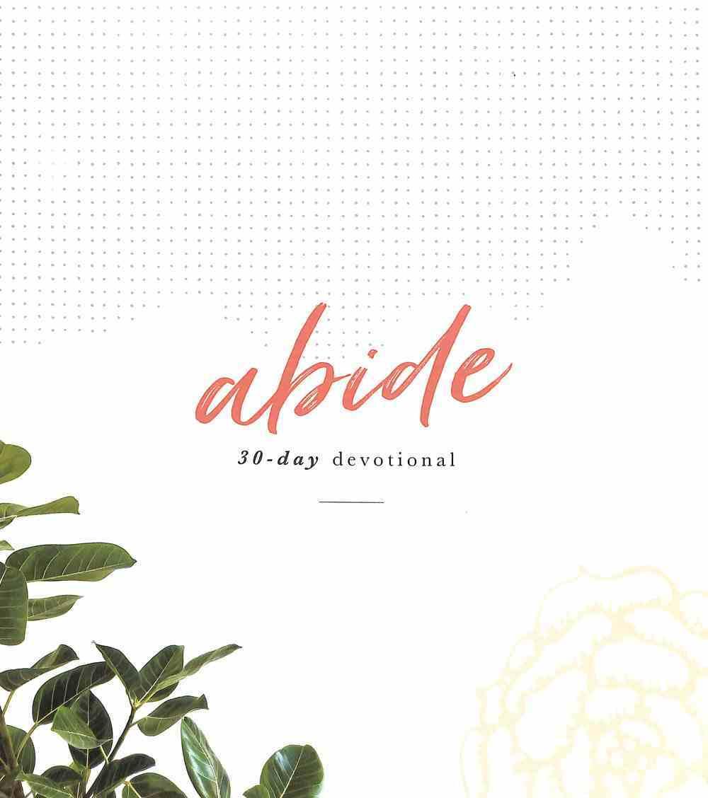 Abide 30 Day Devotional Flexi Back