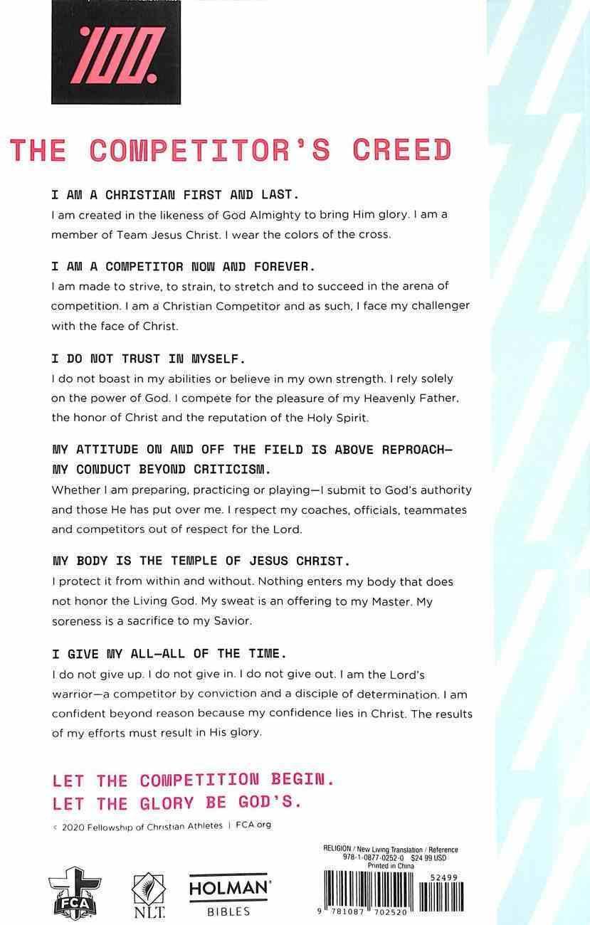 NLT Athlete's Bible 100% Edition Paperback