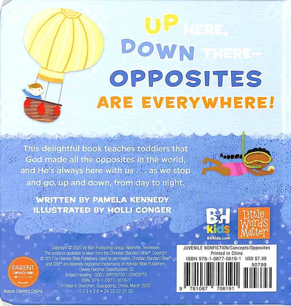Opposites For You and Me (Little Words Matter Series) Board Book