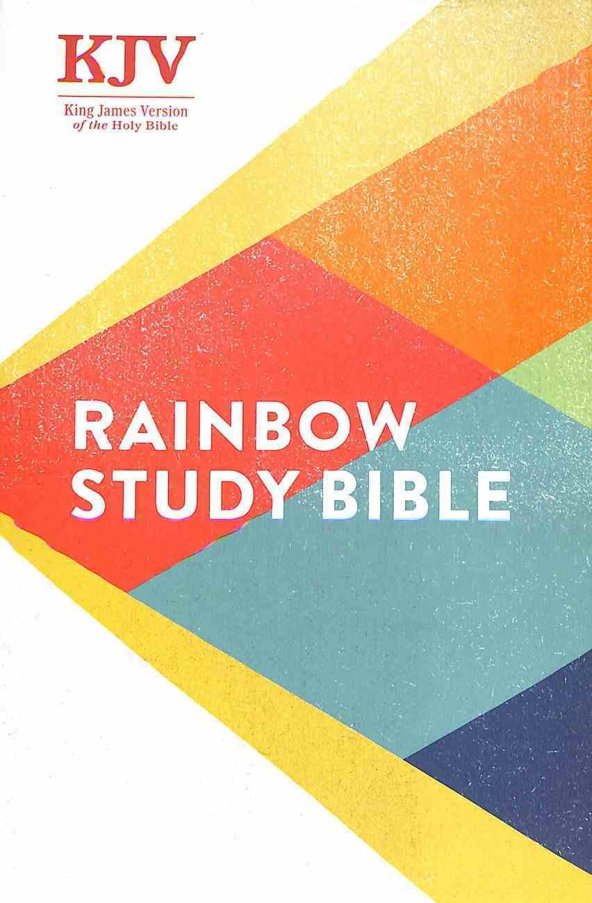 KJV Rainbow Study Bible Hardback