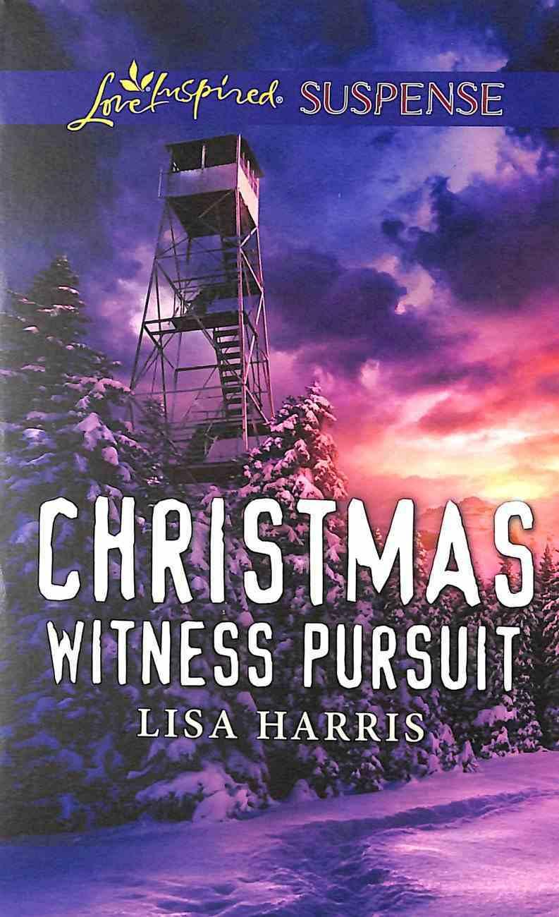 Christmas Witness Pursuit (Love Inspired Suspense Series) Mass Market