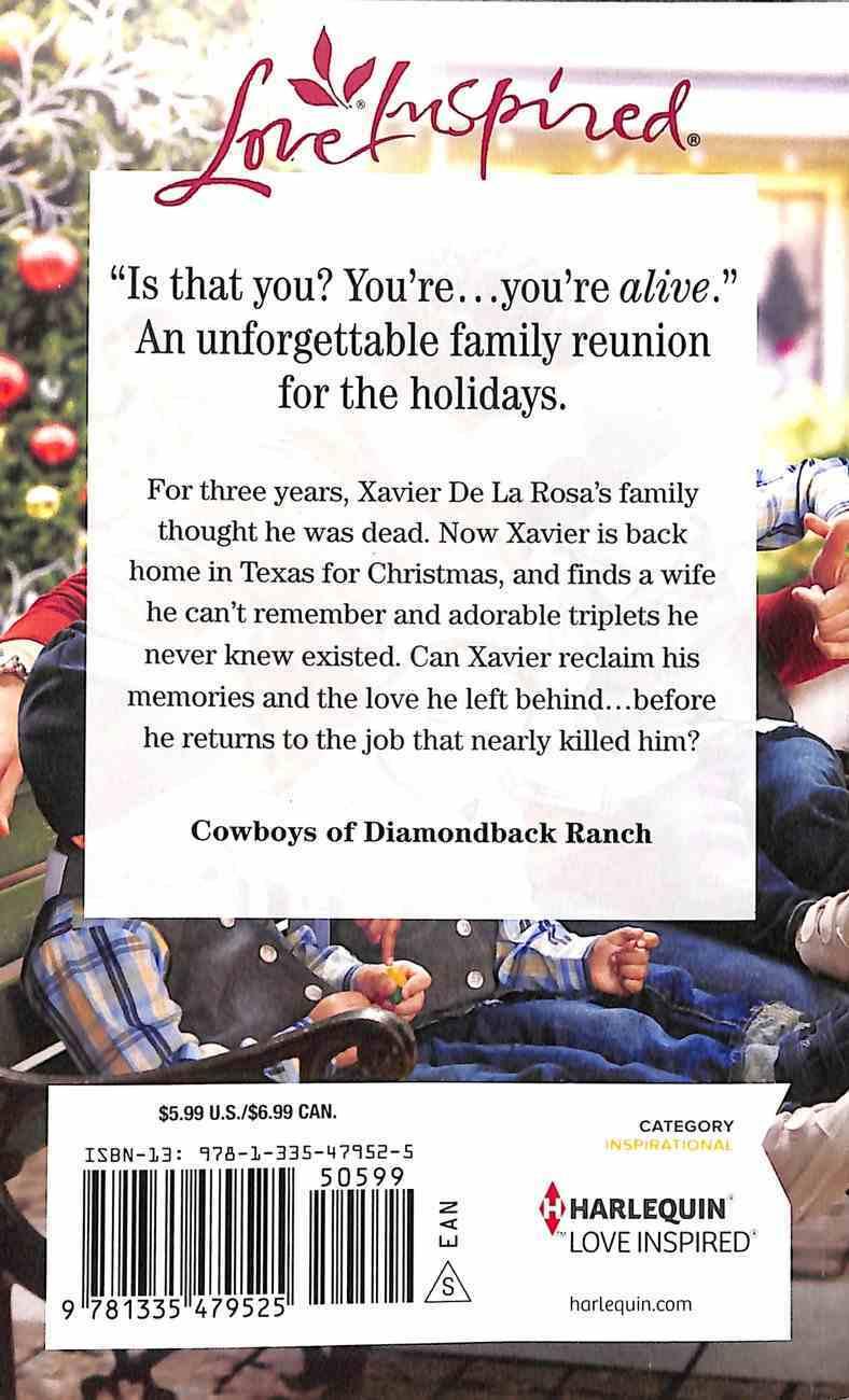 The Texan's Surprise Return (Cowboys of Diamondback Ranch) (Love Inspired Series) Mass Market