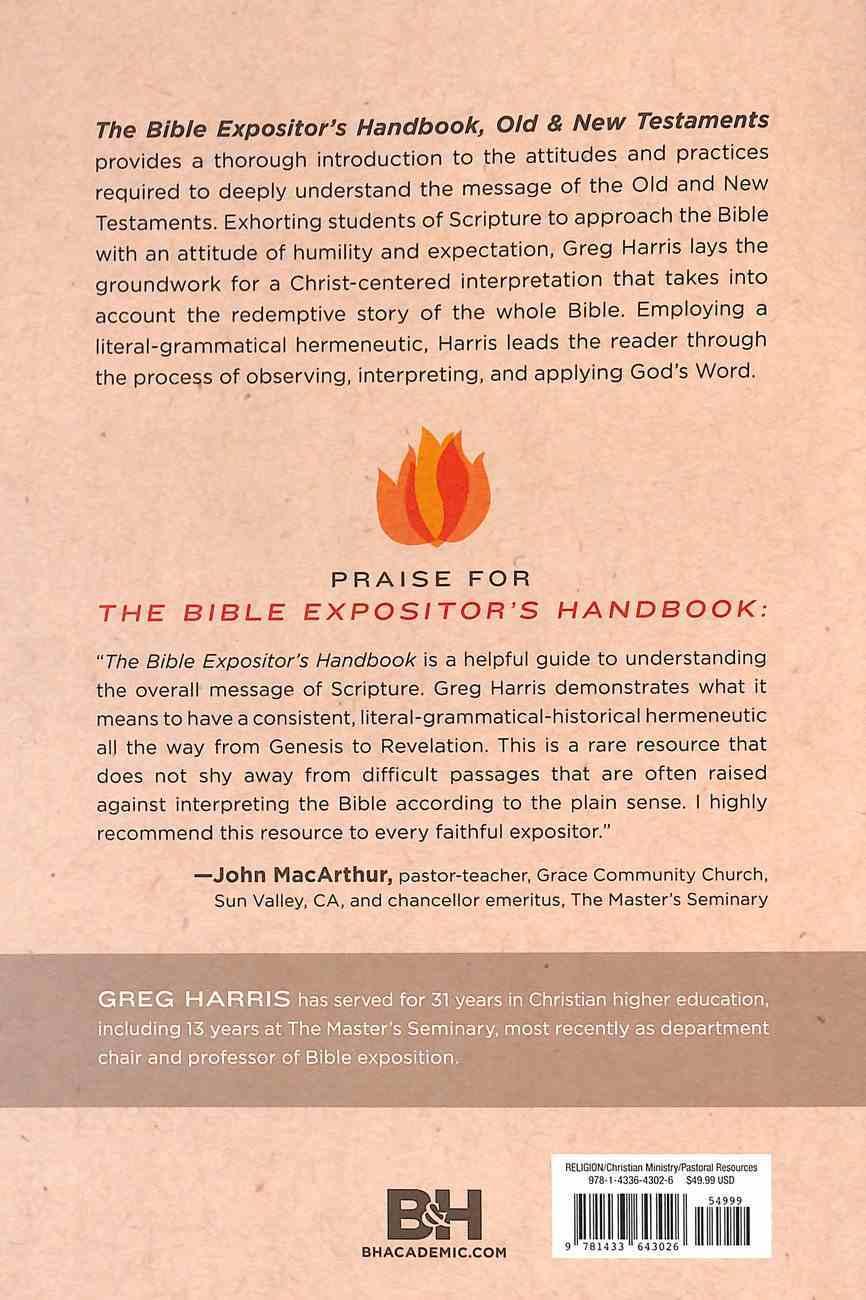 The Bible Expositor's Handbook Paperback