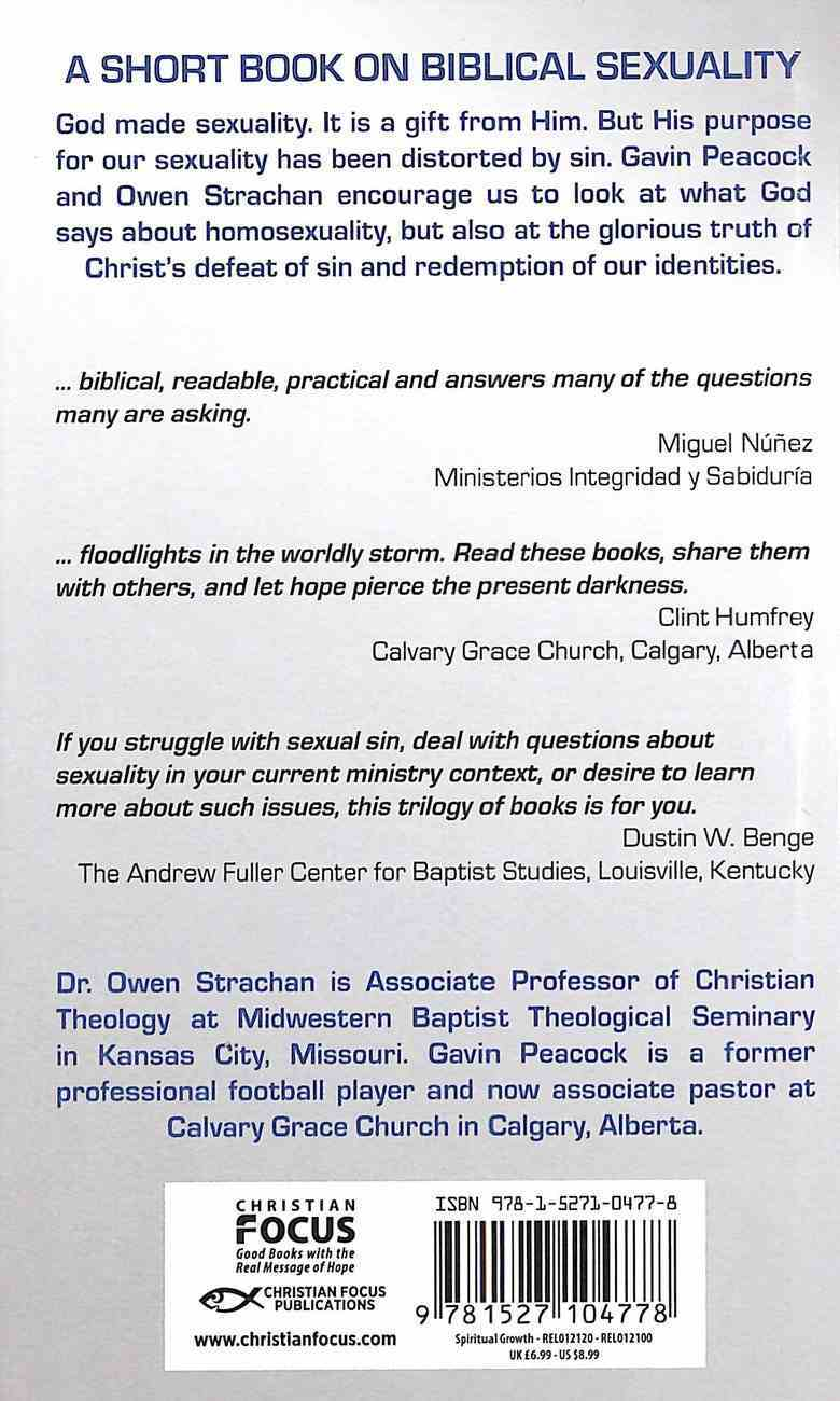 What Does the Bible Teach About Homosexuality?: A Short Book on Biblical Sexuality Hardback