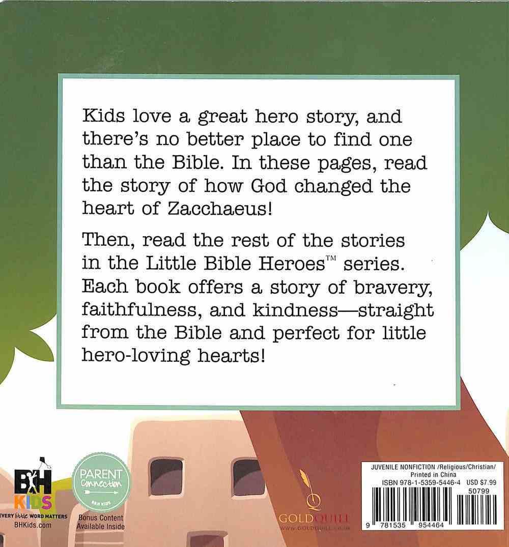 Zacchaeus (Little Bible Heroes Series) Board Book