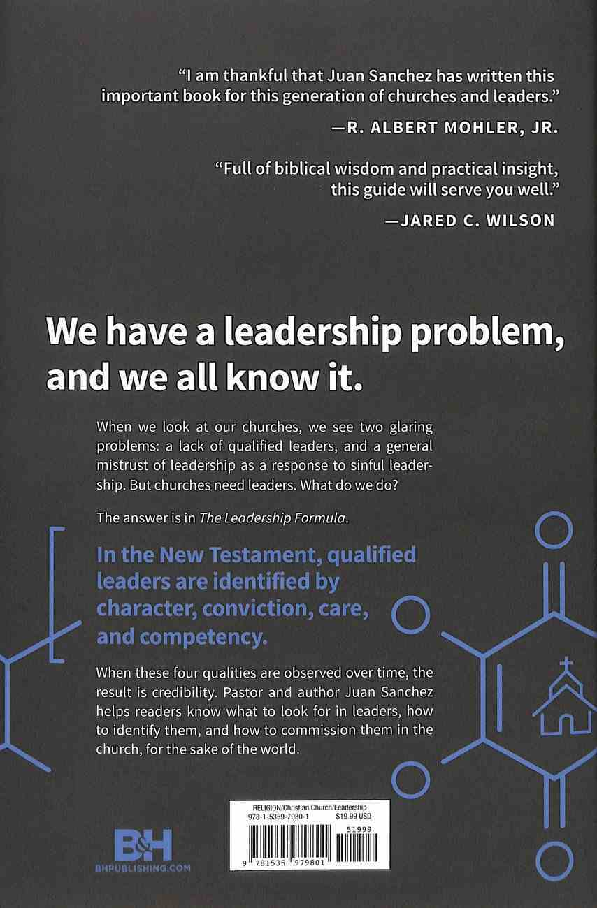 The Leadership Formula: Develop the Next Generation of Leaders in the Church Hardback