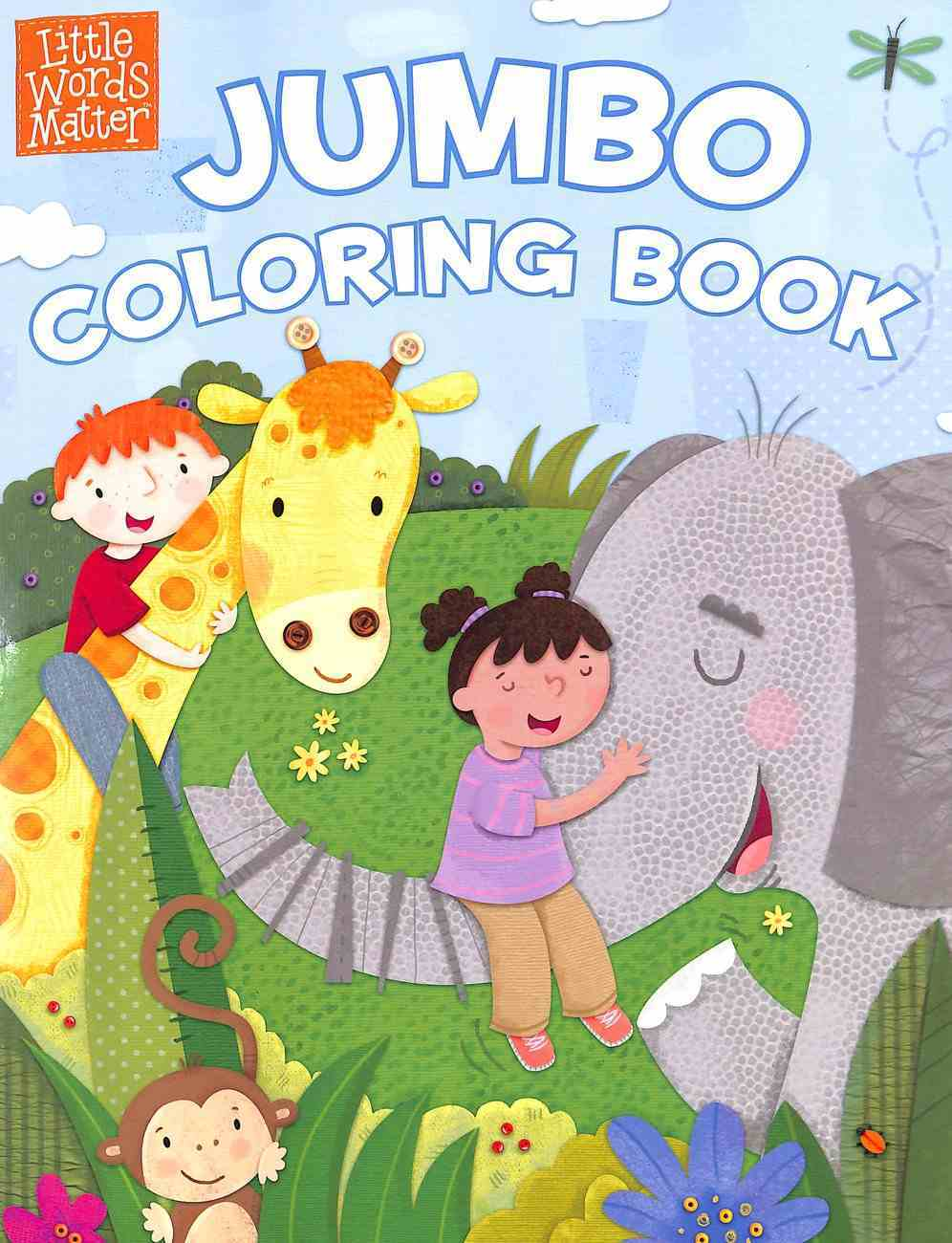 Little Words Matter Jumbo Coloring Book (Ages 1-4) Paperback