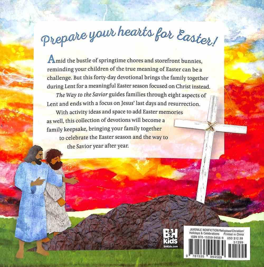 The Way to the Savior: A Family Easter Devotional Hardback