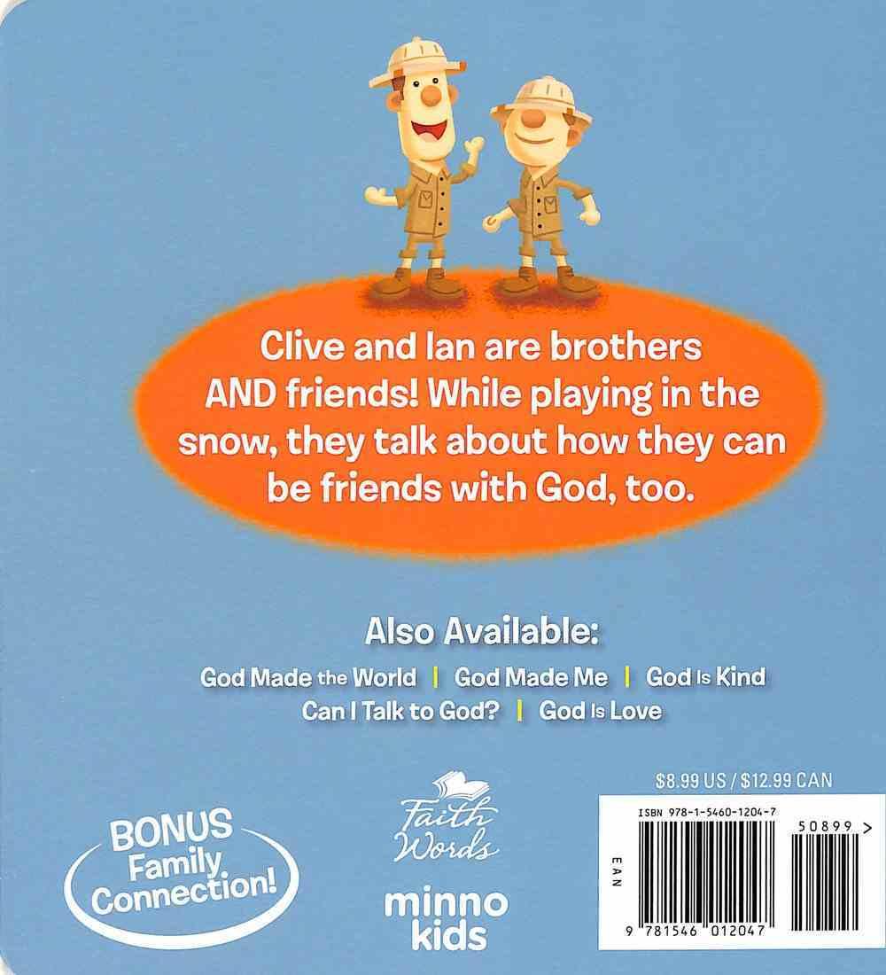 Is God My Friend? Board Book