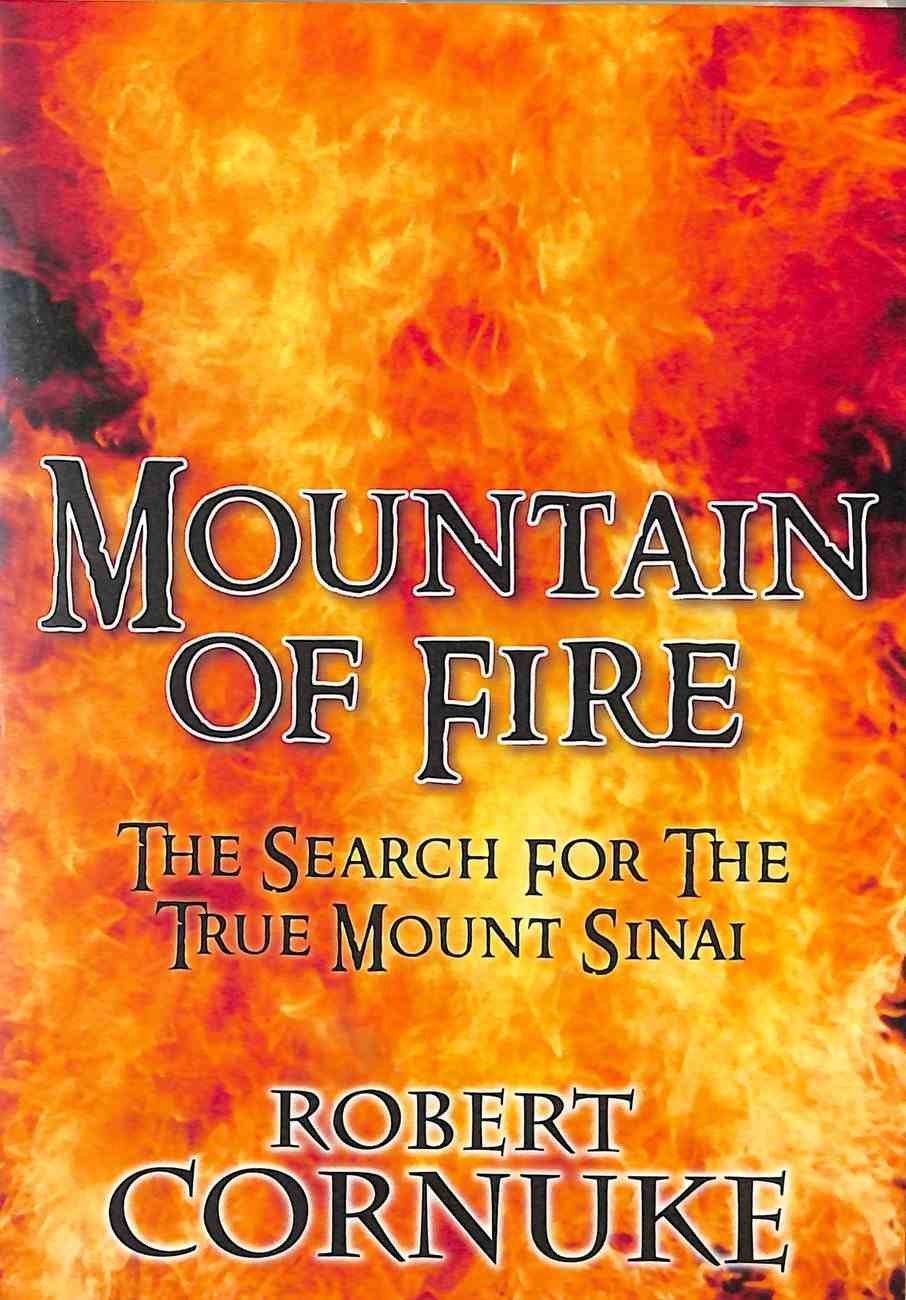 Mountain of Fire: The Search For the True Mount Sinai DVD