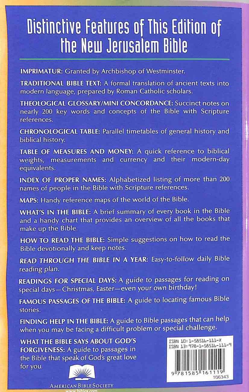 New Jerusalem Economy Bible Paperback