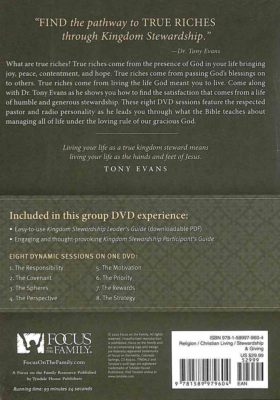 Kingdom Stewardship Group Video Experience (Dvd) DVD