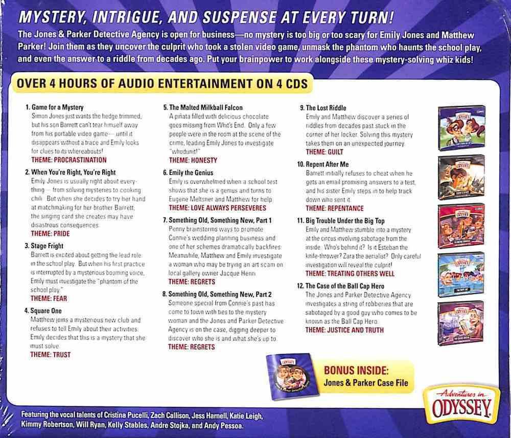 The Jones & Parker Detective Agency (Adventures In Odyssey Audio Series) CD