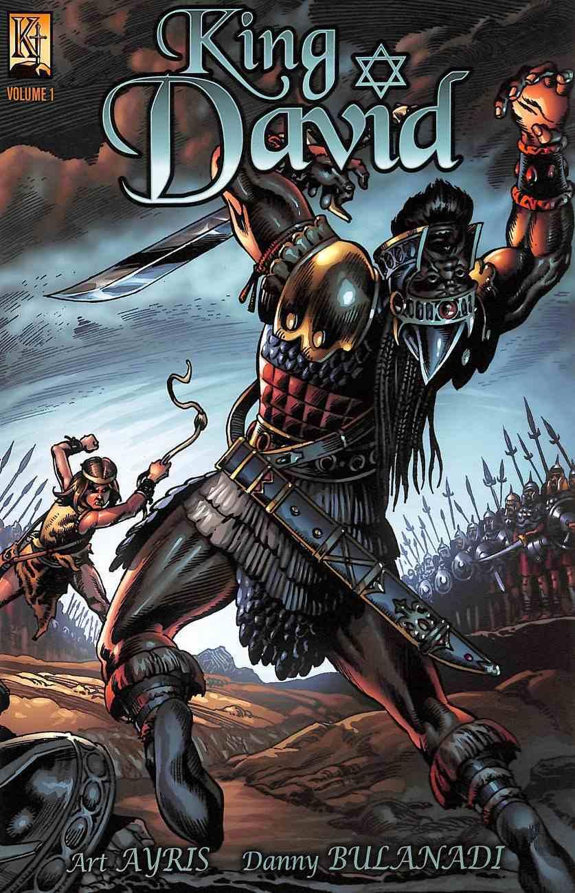 King David 1 - the Shepherd (The Kingstone Comic Bible Series) Paperback