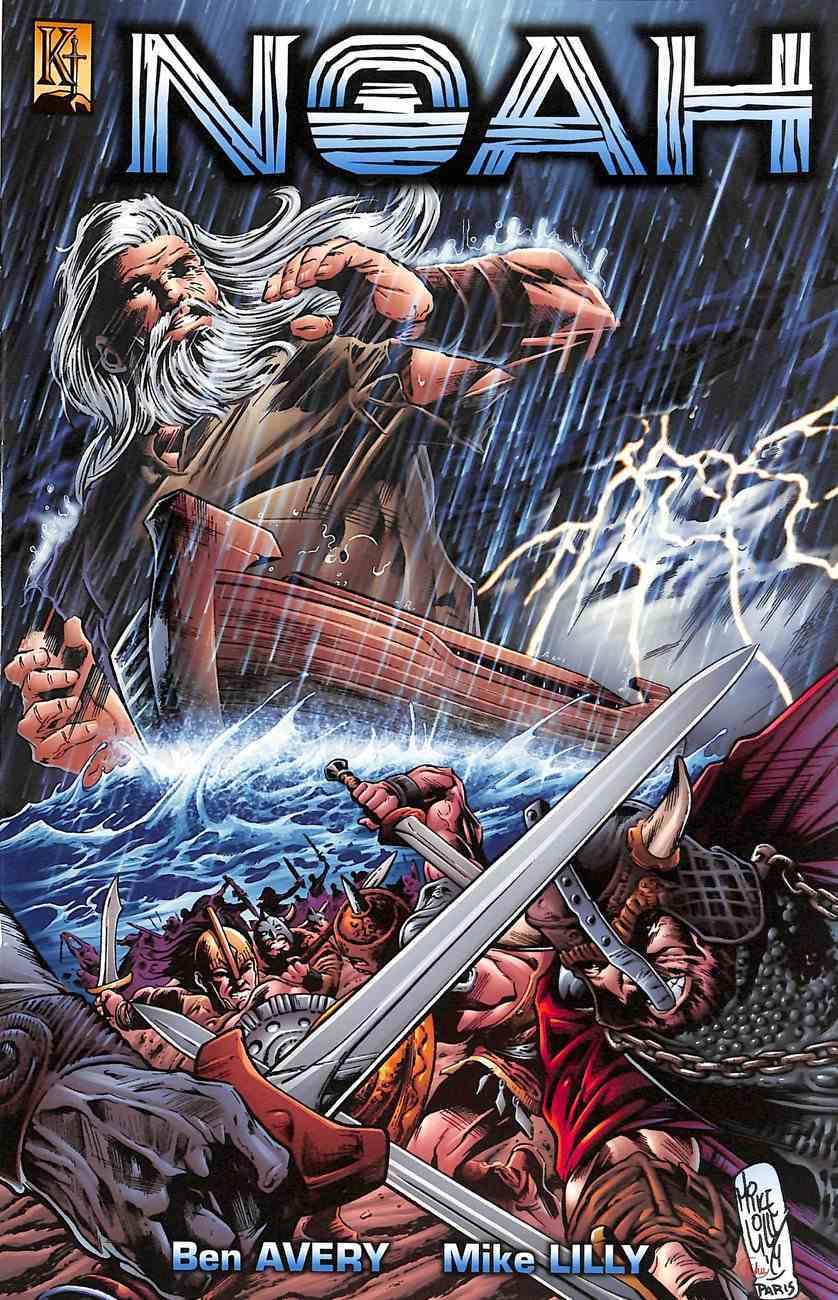 Noah: The Flood (The Kingstone Comic Bible Series) Paperback