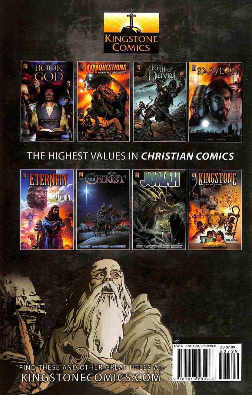 Job: Man of Pain (The Kingstone Comic Bible Series) Paperback